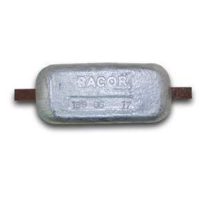 Anodo de Zinco de 1,00kg a 40,00Kgs