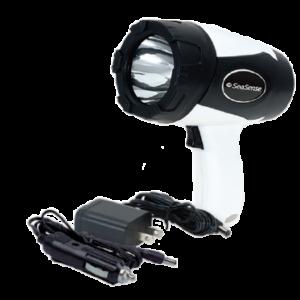 Farol de Busca LED Plug e Corrent